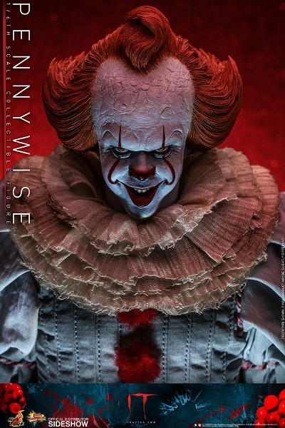 Preorder Hot Toys IT Chapter Two Pennywise Sixth Scale Figure